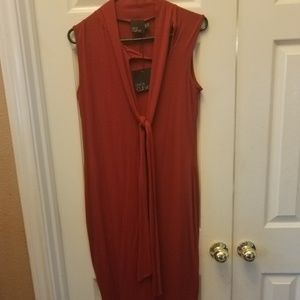 *SOLD* Red Midi Dress
